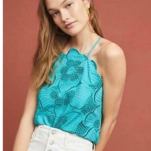 Anthropologie Corey Lynn Calter Giverny Blouse L